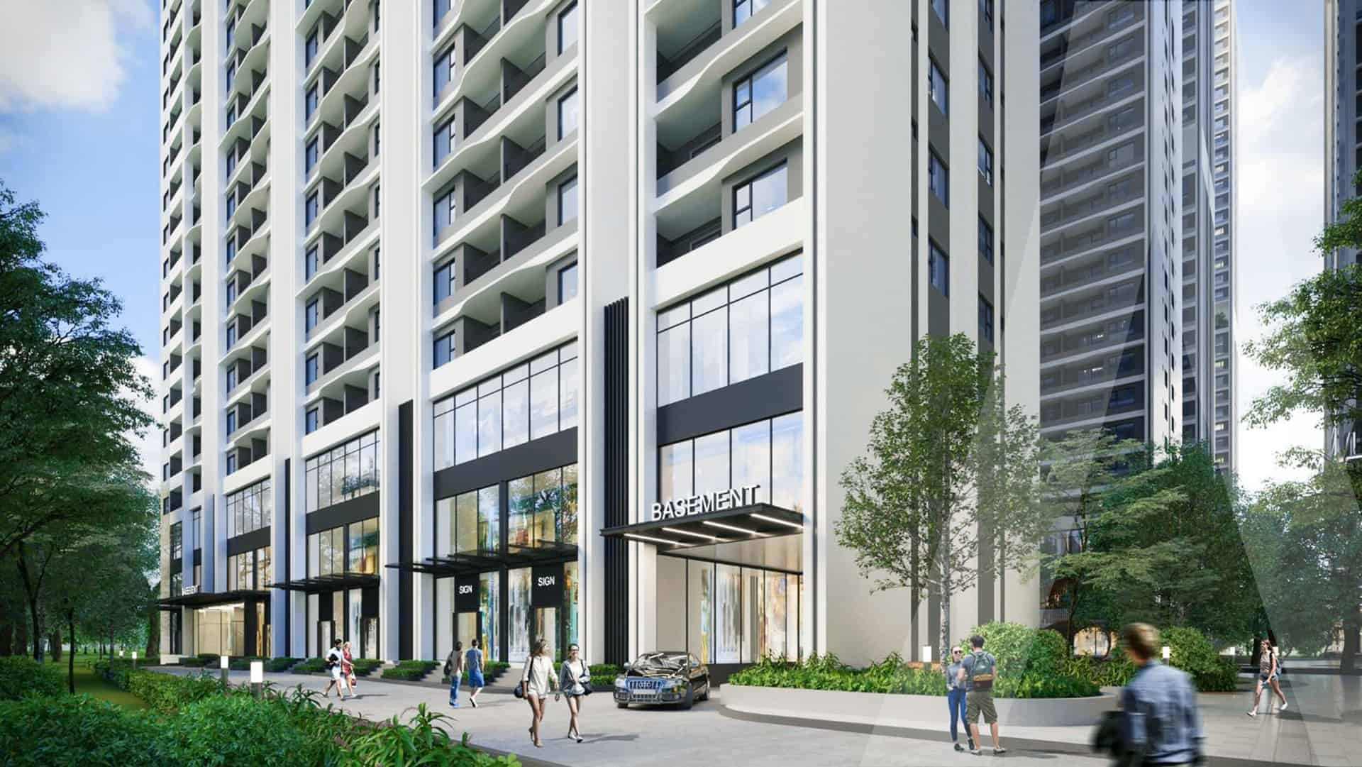 Astral City định hình thiết kế căn hộ cao cấp