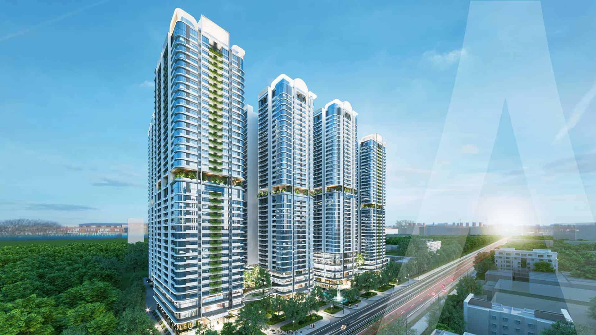 Astral City Bình Dương thu hút giới đầu tư