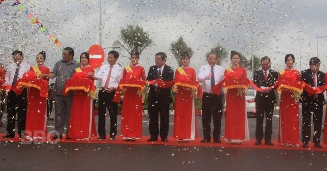 Khu kinh tế Nhơn Hội: Khánh thành QL 19B trục ngoại giao