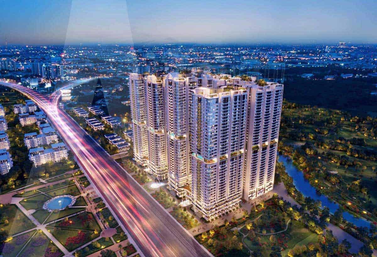 Dự án căn hộ Astral City: Dấu ấn kiến trúc thượng lưu