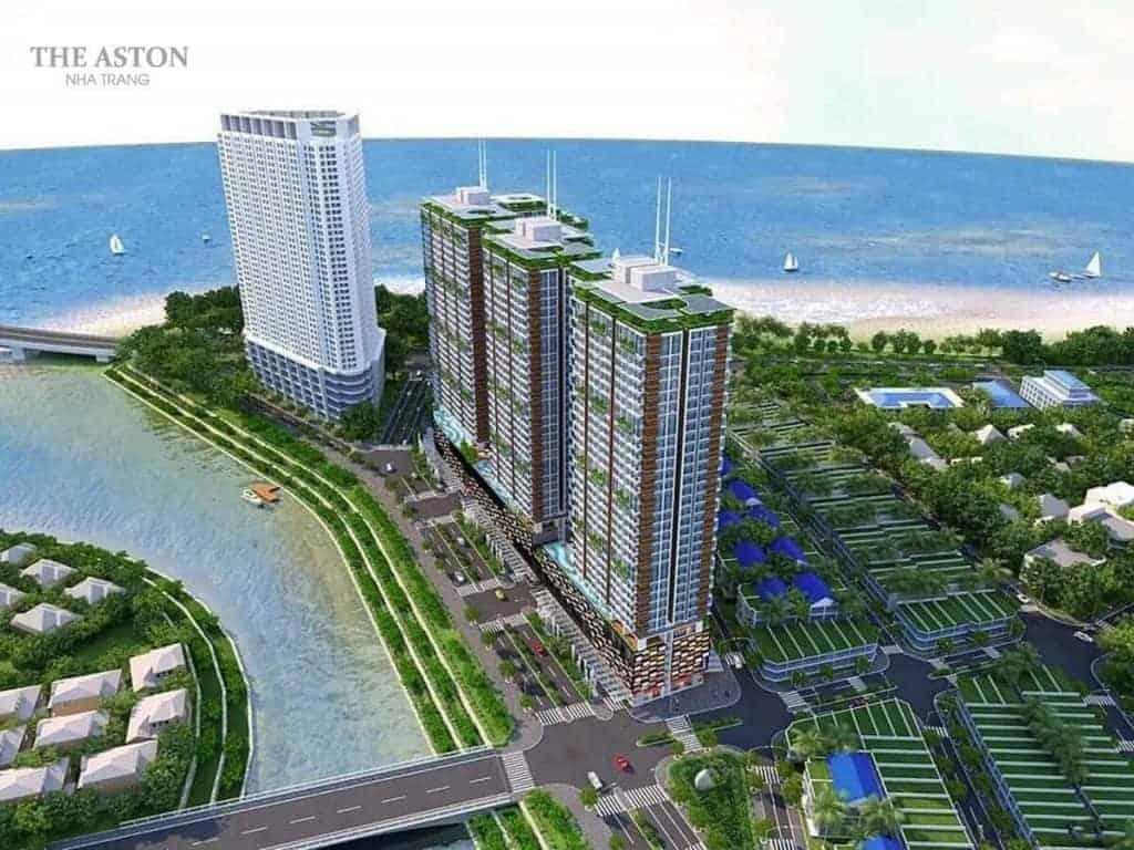 The Aston: Kiến trúc mang cảm hứng sóng của biển