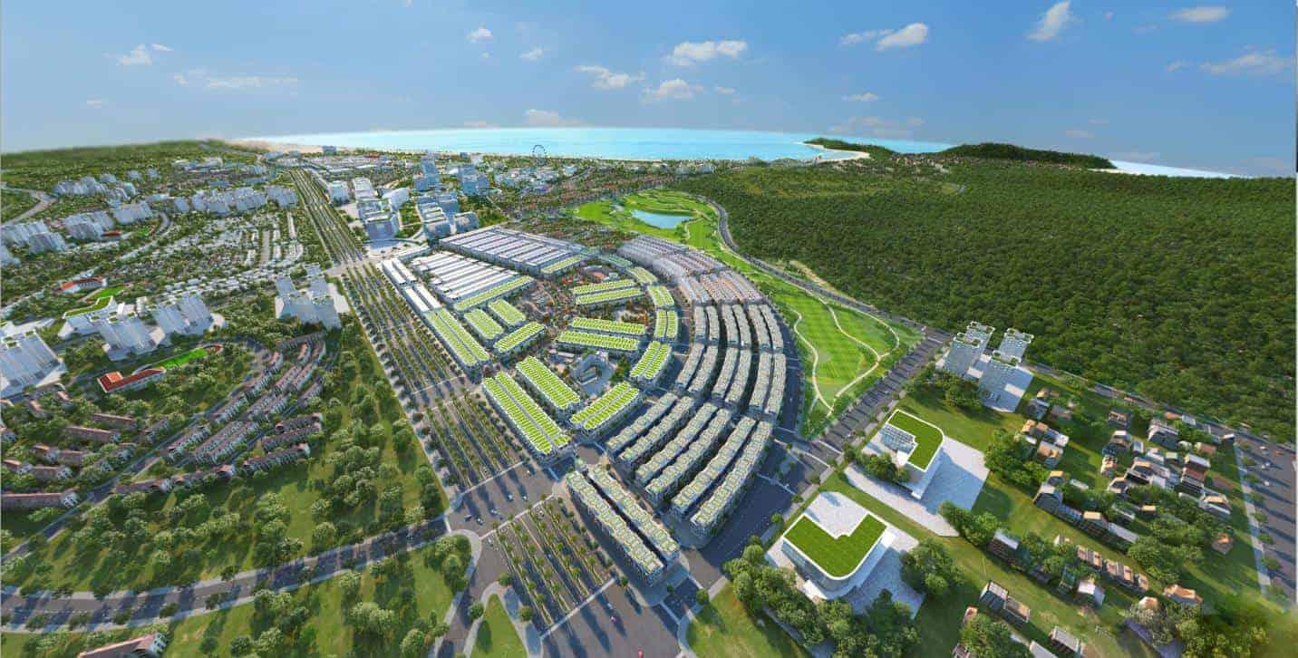 """Sức hút của """"giao lộ vàng"""" khu đô thị biển Kỳ Co Gateway Quy Nhơn"""