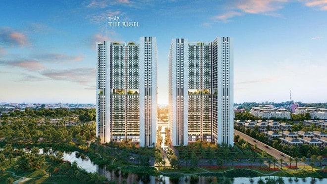"""Astral City: Tòa tháp The Rigel nổi bật giữa """"trục tĩnh""""của dự án"""