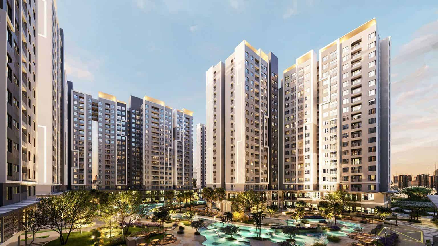"""Giá cho thuê căn hộ Thuận An Bình Dương """"được giá"""" nhờ đơn vị vận hành quốc tế"""