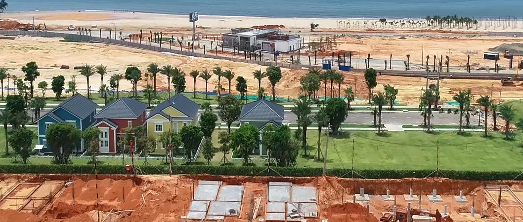 Giao lộ vàng của dự án căn hộ Takashi Ocean Suite miền Trung