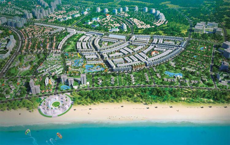 Takashi Ocean Suite với lợi thế tọa lạc trung tâm khu đô thị biển